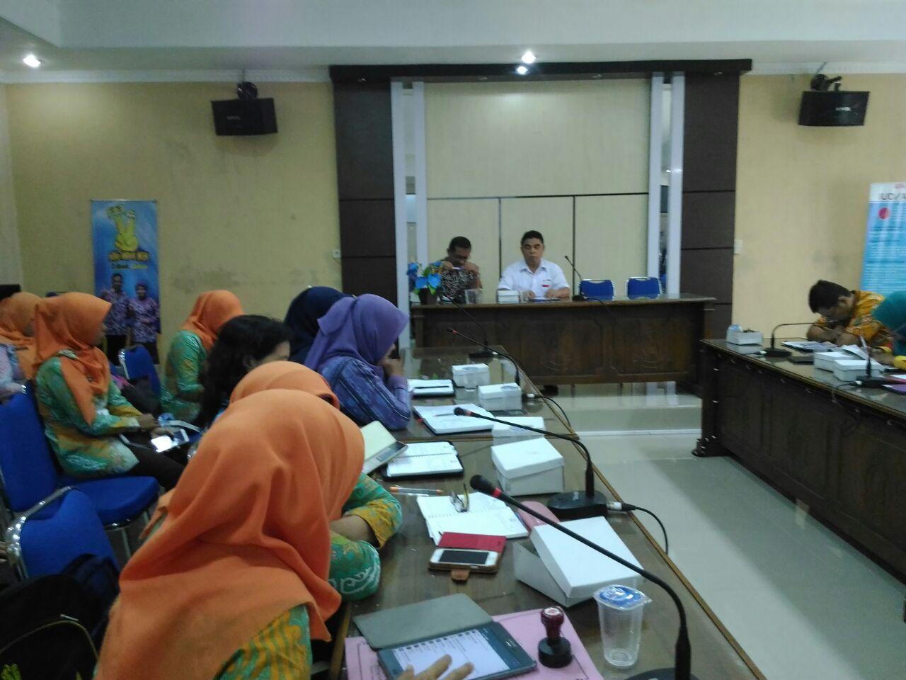 Rapat Evaluasi Kegiatan Perhimpunan Donor Darah Indonesia( PDDI)