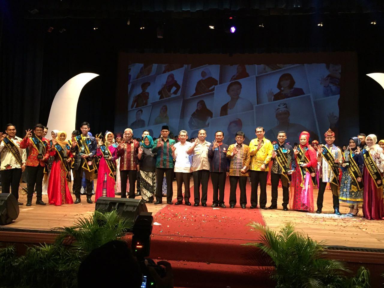 Penganugerahan Duta GenRe Tingkat Nasional Tahun 2017