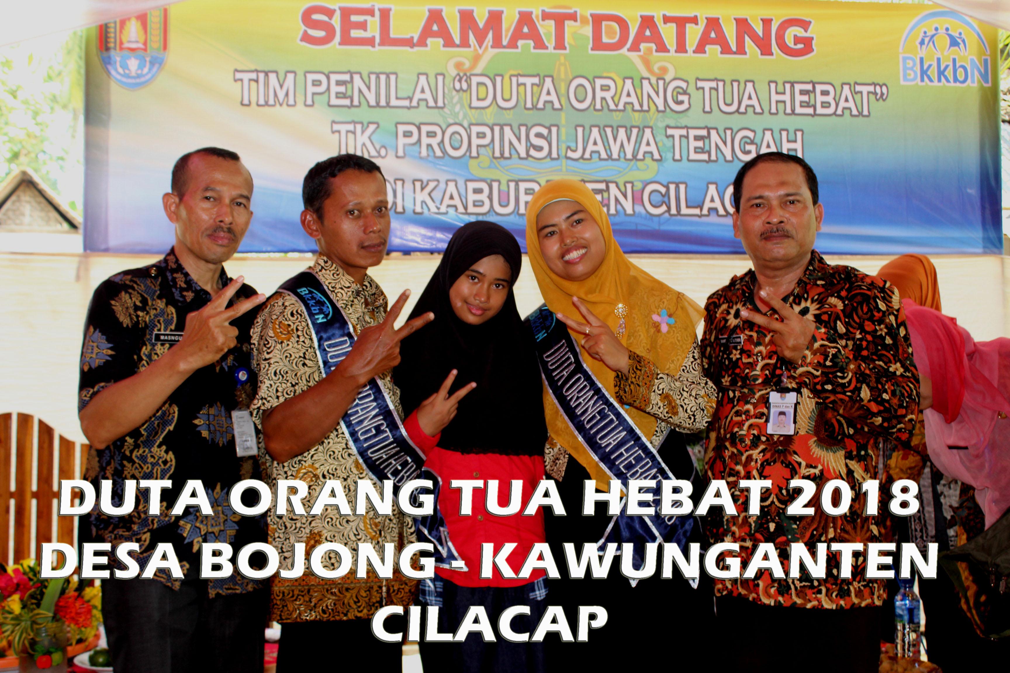 Penilaian Duta Orang Tua Hebat Tingkat Propinsi Jawa Tengah