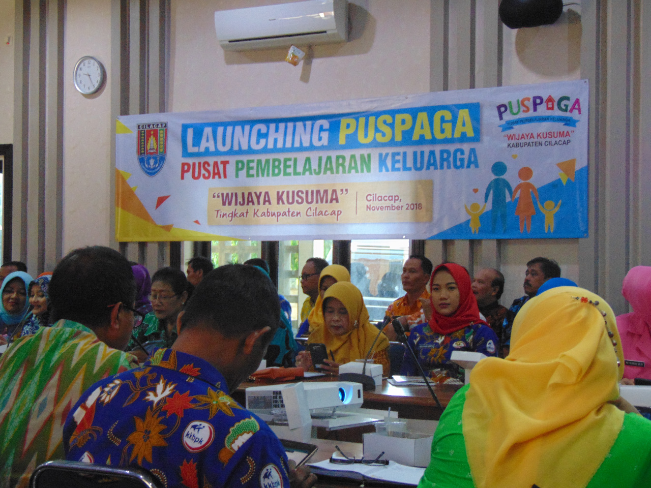 Launching PUSPAGA