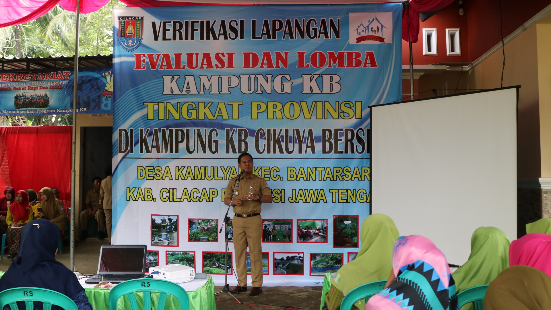 Verifikasi Lapangan Evaluasi dan Lomba Kampung KB Tingkat Provinsi Jawa Tengah