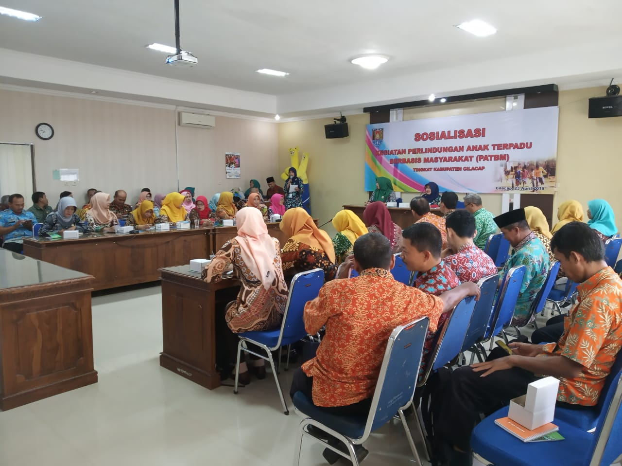 SOSIALISASI PERLINDUNGAN ANAK BERBASIS MASYARAKAT (PATBM)