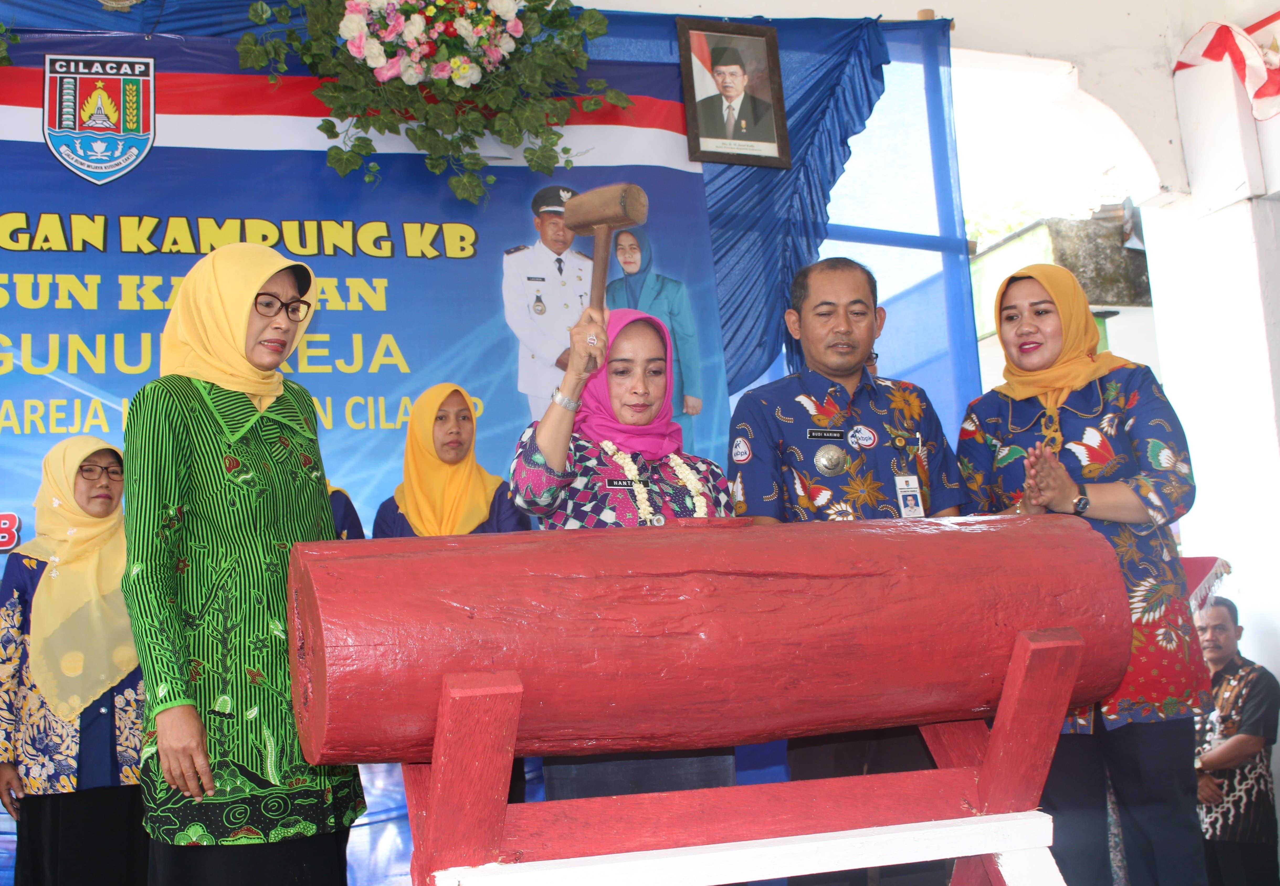 "Pencanangan Kampung KB ""GERMAS"" Dusun Kauman Desa Gunungreja Kecamatan Sidareja."